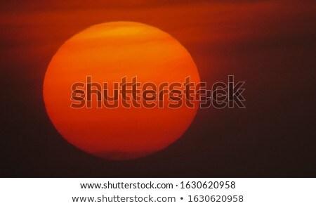 pôr · do · sol · mar · imagem · espetacular · marinha · península - foto stock © es75