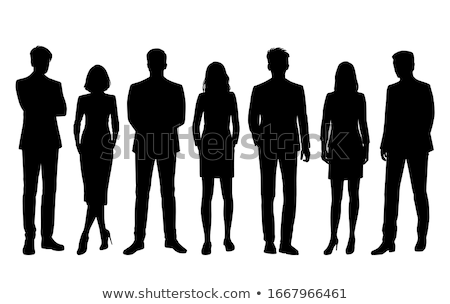 Businessman standing with folded arms Stock photo © AndreyPopov