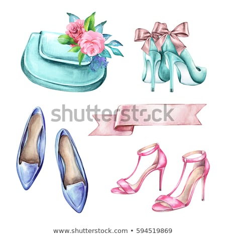 Beautiful woman in white underwear and high-heeled shoes . Stock photo © Pilgrimego