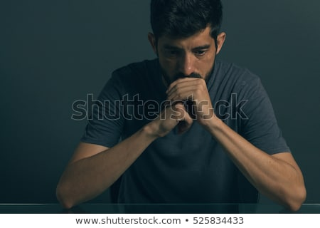 Portrait of upset man  Stock photo © deandrobot