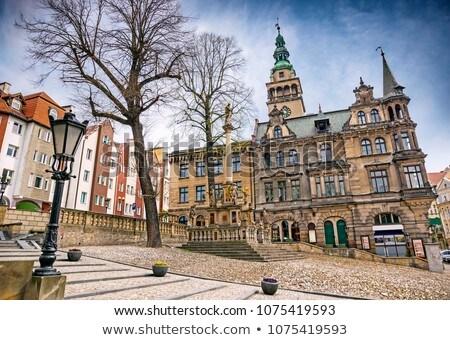 Stock photo: the town Klodzko (Glatz) in Silesia, Town Hall