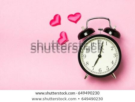 Tijd liefde man vrouw vliegen wolken Stockfoto © Genestro