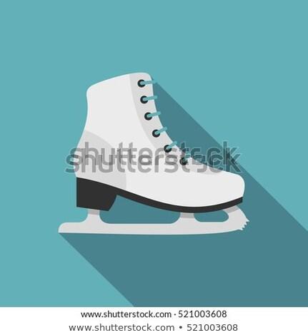 люди · катание · стиль · дизайна · катание · на · коньках · фигурное · катание - Сток-фото © decorwithme