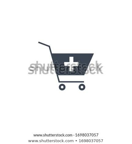 Drugstore Shopping related vector glyph icon. Stock photo © smoki