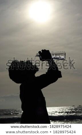 Eau minérale soleil froid Nice vert nature Photo stock © cosma