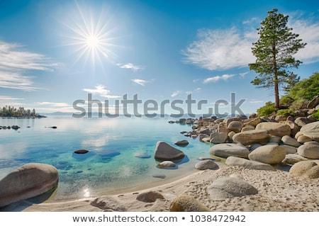 day on a lake stock photo © petrmalyshev