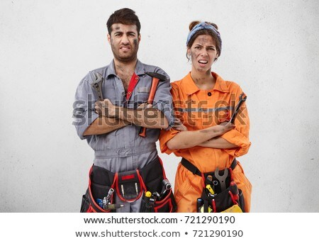 portrait of a woman plumber stock photo © photography33