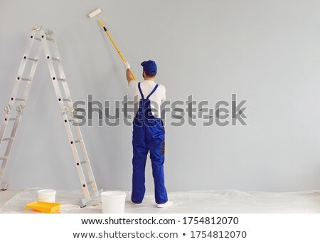 A male painter with a roller. Stock photo © photography33