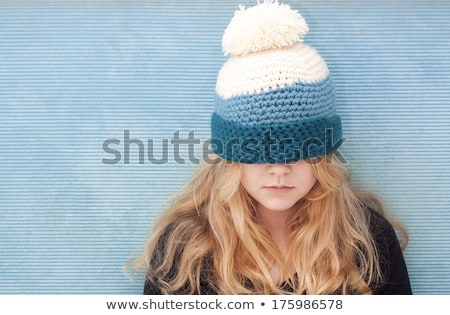 Beautiful woman in her woolen pull over. Stock photo © photography33