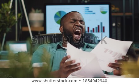 young businessman looking tired stock photo © photography33