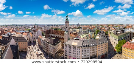 Stock photo: munchen skyline