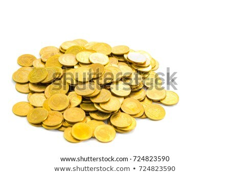 Pile of Coins on a white background Stock photo © Zerbor