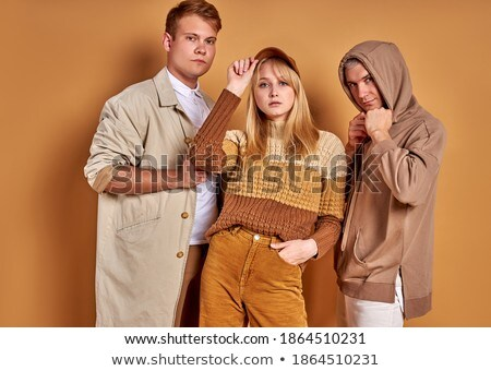female wearing sportive outfit looking at camera stock photo © dash