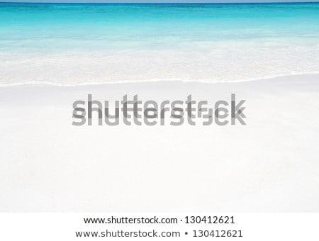 White sand beach andaman sea Stock photo © vichie81