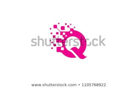 logotype q logo vector letter q icon symbol sign design stock photo © blaskorizov