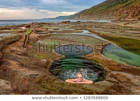 Female swimming in the Figure 8 Pools Australia Stock photo © lovleah