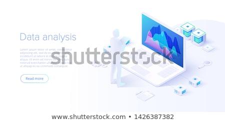 Ingeniero base de datos almacenamiento grave jóvenes árabe Foto stock © pressmaster