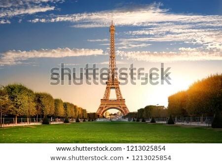 Autumn at Champs de Mars Stock photo © Givaga