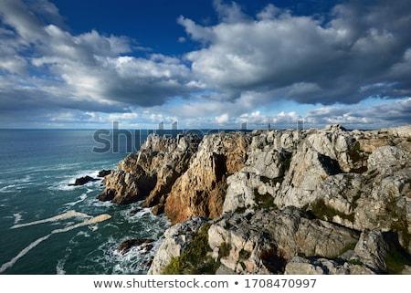 Pen-Hir Cape and the atlantic ocean Stock photo © tilo