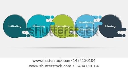 Project initiation vector illustration Stock photo © RAStudio
