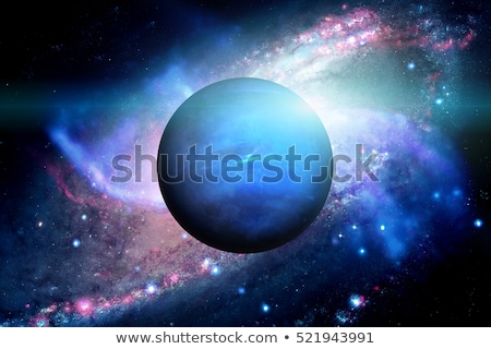 Solar System - Neptune. It is the eighth and farthest planet fro Stock photo © NASA_images