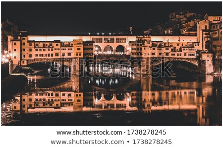 Florence Skyline at Night Stock photo © ca2hill