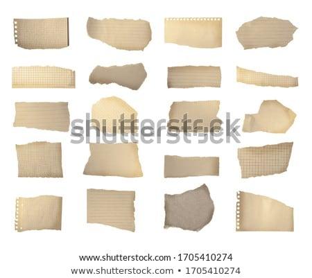 Гранж · изолированный · бумаги · лист · центр · копия · пространства - Сток-фото © deyangeorgiev