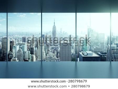 Foto stock: Negócio · cidade · ilha · quente · ar · balões