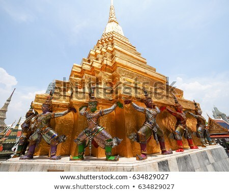 Wat Phra Keo, Bangkok Stock photo © raywoo