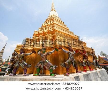 Bangkok toren Thailand reizen aanbidden architectuur Stockfoto © raywoo