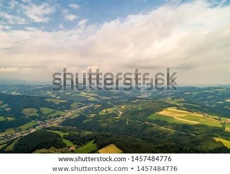альпийский · долины · Австрия · небе · лес · пейзаж - Сток-фото © bertl123
