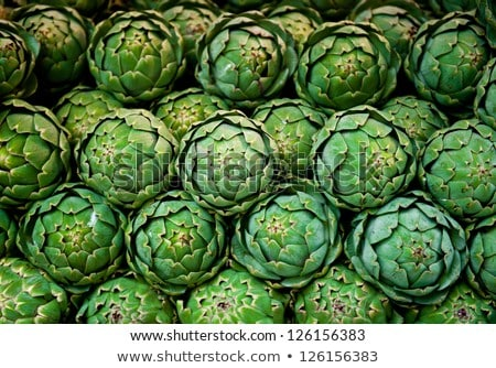 box of artichokes Stock photo © adrenalina