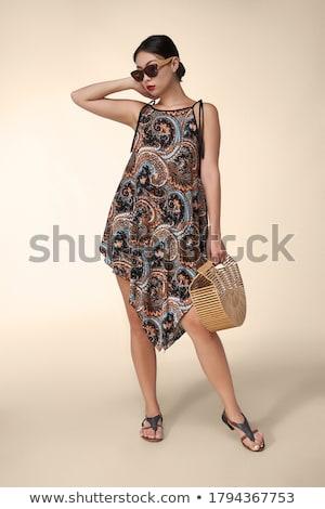 Paisley dress Stock photo © disorderly