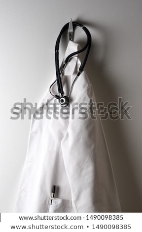 Doctor in uniform and stethoscope Stock photo © bluering