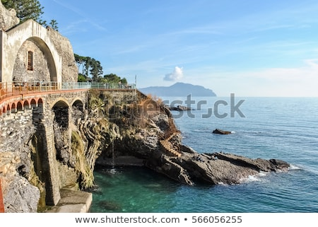 coastline in Genova Nervi Stock photo © Antonio-S