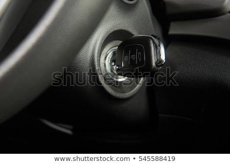 Car Key In Ignition Stock photo © albund