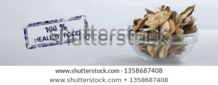 slices of dried mushrooms stock photo © digifoodstock