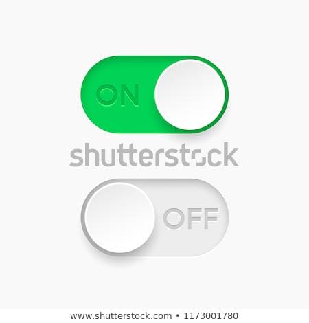 Kleurrijk schakelaar illustratie af internet ontwerp Stockfoto © Blue_daemon