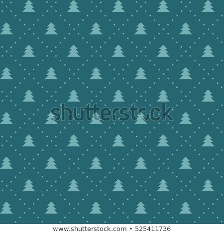 Vector christmas oneindig patroon eenvoudige iconen Stockfoto © blumer1979