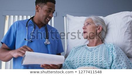 Physician Explains The Procedure Stock photo © AndreyPopov