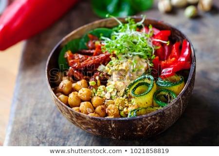 Healthy vegan food Stock photo © olira