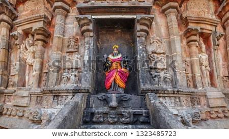 Durga image, Airavatesvara Temple, Darasuram Stock photo © dmitry_rukhlenko