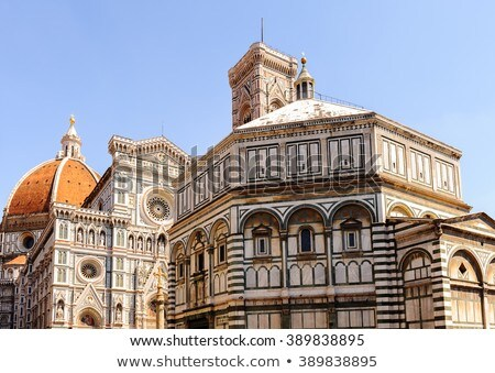 Florence cathedral and Giotto's Tower  Stock photo © ajlber