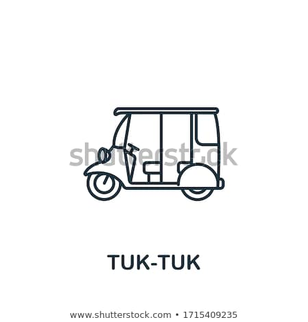 Tuk Tuk stock photo © AEyZRiO