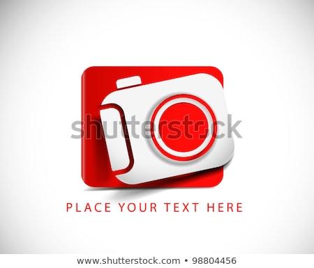 A violet digital camera Stock photo © bluering
