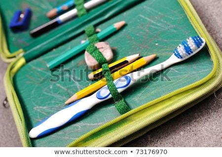 çocuk · diş · fırçalamak · sağlık · dişler · dişçi - stok fotoğraf © zurijeta