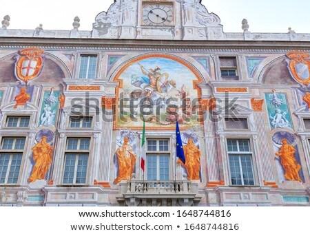 Palazzo San Giorgio in Genoa Stock photo © boggy