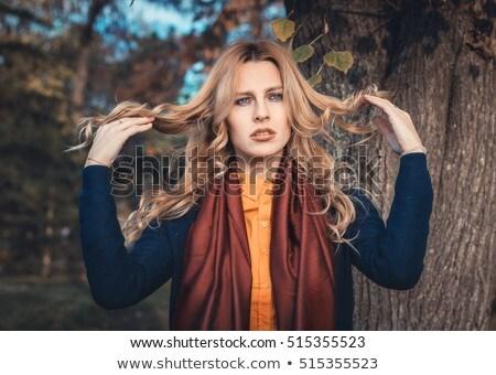 Felice lungo capelli città Foto d'archivio © Giulio_Fornasar