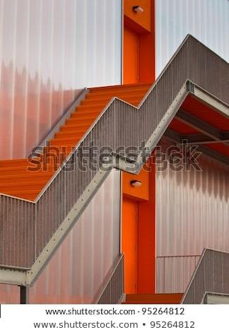 External stairs of a modern building Stock photo © manfredxy