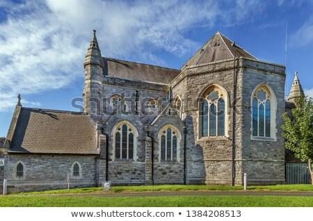 Templom szent család Dublin Írország utca Stock fotó © borisb17